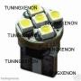 2 veilleuse haut de gamme à 5 led smd HP-LED xenon 360°