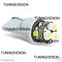 2 veilleuse haut de gamme à 6 led xenon smd HP-LED 3D