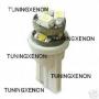 1 ampoule à 6 led smd blanc xenon en culot plat w5w 3D
