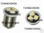 2 ampoules à 3 led smd blanc xenon en culot T4W